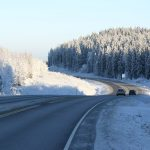 Winter maintenance on traffic routes
